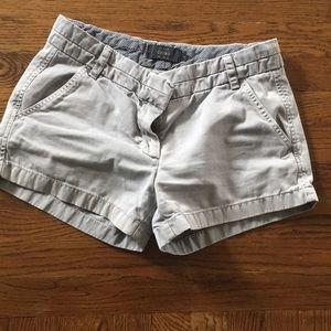 J. Crew gray shorts